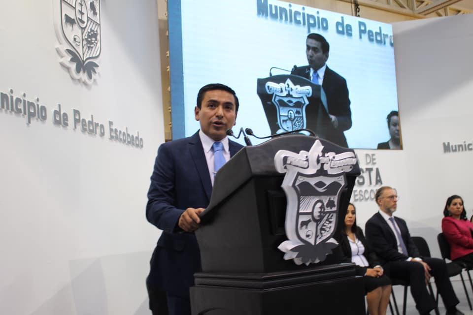 RINDE AMARILDO BÁRCENAS EL DÍA DE AYER LUNES MENSAJE CIUDADANO