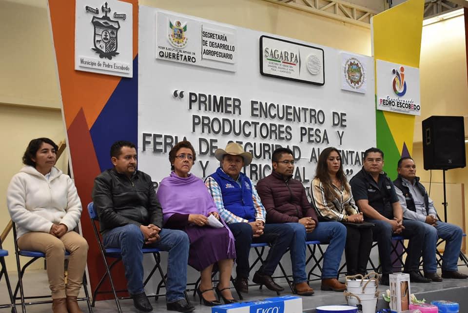 PEDRO ESCOBEDO, SEDE DE LA PRIMERA FERIA DE SEGURIDAD ALIMENTARIA Y NUTRICIONAL