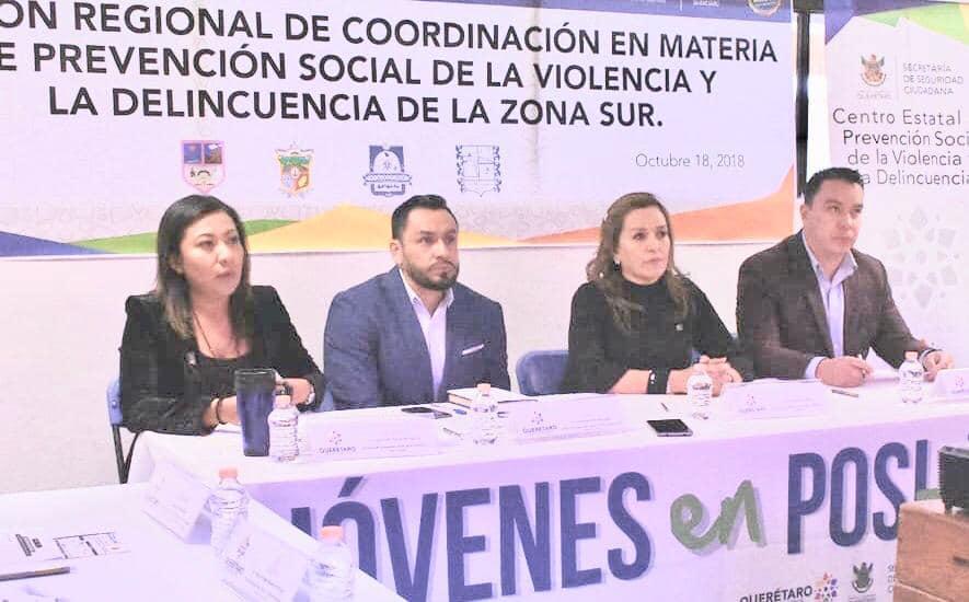 PEDRO ESCOBEDO SEDE DE REUNIÓN REGIONAL EN MATERIA DE SEGURIDAD
