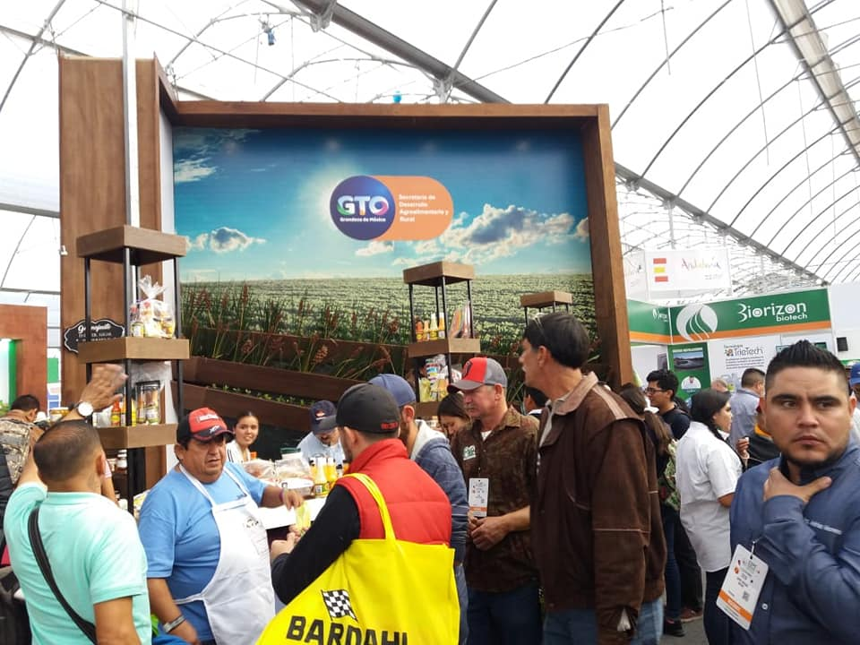 "PRODUCTORES DE ESCOBEDO ASISTEN A LA ""EXPO AGROALIMENTARIA GUANAJUATO 2018"""