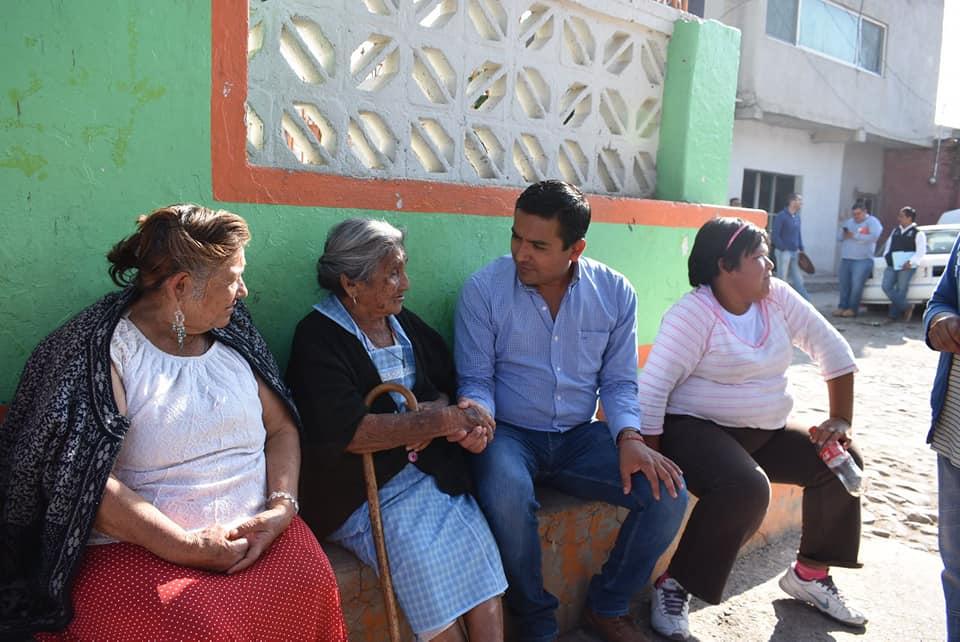 SUPERVISA AMARILDO BÁRCENAS REHABILITACIÓN DE CAMINOS EN TRES LOCALIDADES